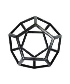 Icosaedro - Acqua Nero